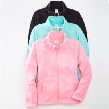 jcpenney.com | City Streets Girls Lightweight Fleece Jacket-Big Kid