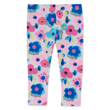 jcpenney.com | Okie Dokie Solid Leggings - Baby Girls