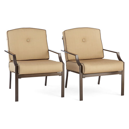 Outdoor Oasis™ Stratton Sofa Chair set of 2