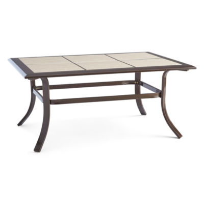 outdoor oasis™ stratton tiled coffee table - jcpenney