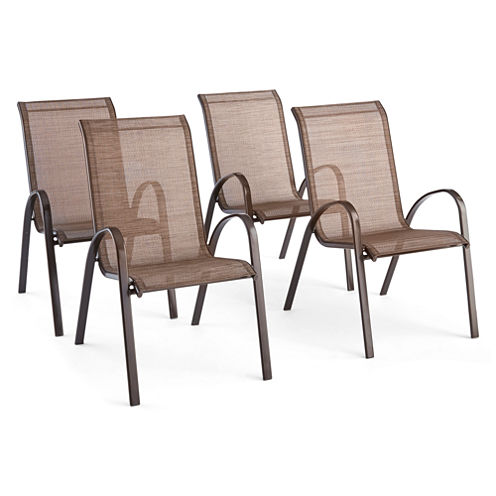Outdoor Oasis Newberry Sling Chair set of 4