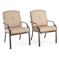 Outdoor Oasis Stratton Stationary Chairs set pf 2