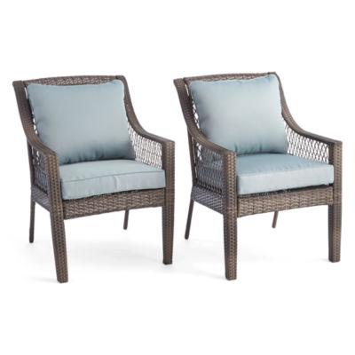 Good Outdoor Oasis™ Latigo Wicker Dining Chair Set Of 2