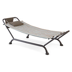 Outdoor Oasis Hammock with Stand