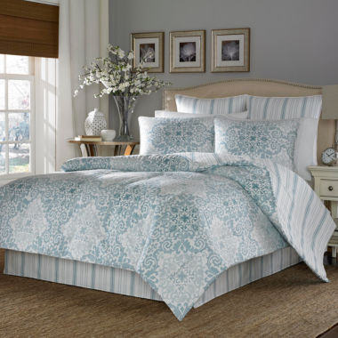 jcpenney.com | Stone Cottage Valencia 4-pc. Midweight Reversible Comforter Set