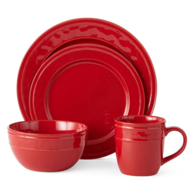 jcpenney.com | JCP Home Dillon 16-pc. Dinnerware Set