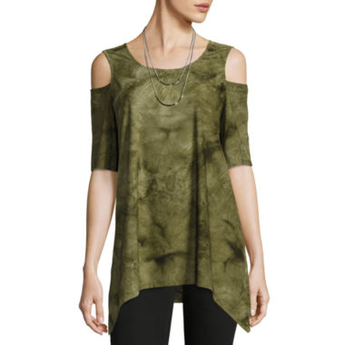 jcpenney.com | Alyx Knit Cold Shoulder Top