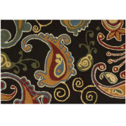 Nourison® Paisley Washable Rectangular Rug