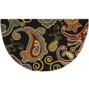 Nourison® Paisley Washable Wedge Rug