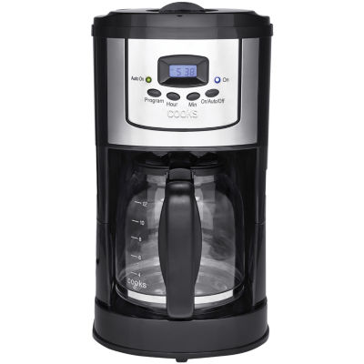 cooks 12-Cup Programmable Coffee Maker + $10 Printable Mail-In Rebate