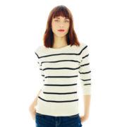 Joe Fresh™ Striped Crewneck Sweater