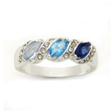 jcpenney.com | city x city® Blue 3-Stone Ring