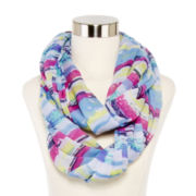 Striped Loop Scarf