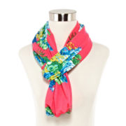 Neon Lux Bouquet Infinity Scarf