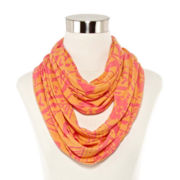 Mixit™ Aztec Burnout Loop Scarf
