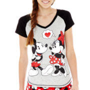 Mickey and Minnie Mouse Sleep Tee