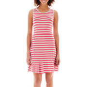 By Artisan Sleeveless Striped Tank Dress