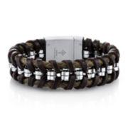 Mens Rolo Weave Bracelet