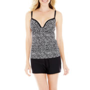 Maidenform Tankini Swim Top or Tricot Shorts