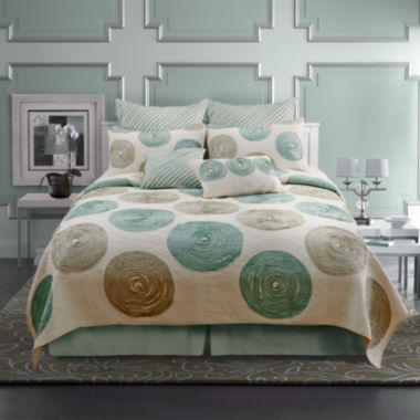 jcpenney.com | Madison Appliquéd Embroidered Quilt & Accessories