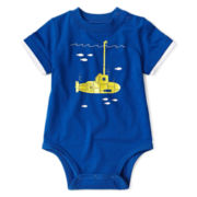 Okie Dokie® Short-Sleeve Graphic Bodysuit - Boys newborn-9m