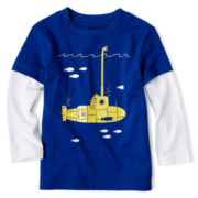 Okie Dokie® Long-Sleeve Graphic Tee - Boys 12m-24m