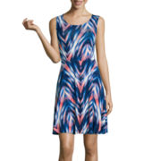 a.n.a® Fit-and-Flare Tank Sundress