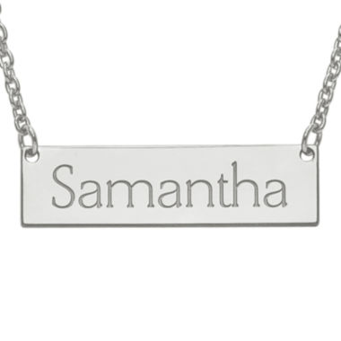 jcpenney.com | Personalized 8x32mm Name Bar Necklace