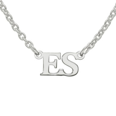 jcpenney.com | Personalized 2 Initial Pendant Necklace