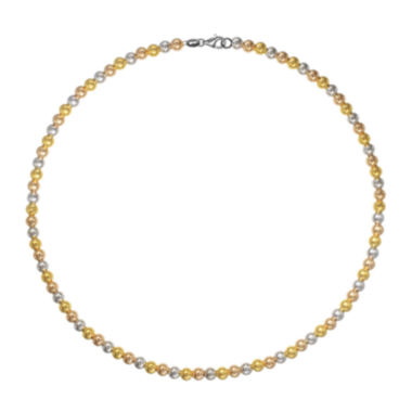 jcpenney.com | 18K Tri-Color Gold Bead Bracelet