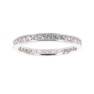 jcpenney.com | Diamonart® Cubic Zirconia Sterling Silver Eternity Band Ring
