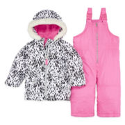 Carter's® Snowsuit Set - Baby Girls 12m-24m