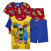 Lego Movie 4-pc Pajama Set - Boys 4-10