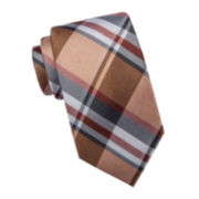 Collection by Michael Strahan  Plaid Silk Tie