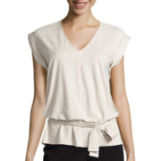 Worthington® Belted Top - Tall