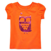 Okie Dokie® Graphic Tee – Baby Girls 12m-24m