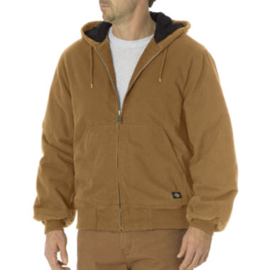 jcpenney.com | Dickies® Sanded Duck Insulated Hooded Jacket - Big & Tall