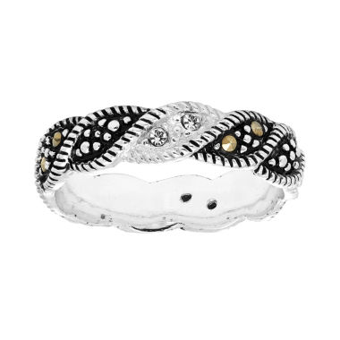 jcpenney.com | Sparkle Allure Gray Marcasite Band