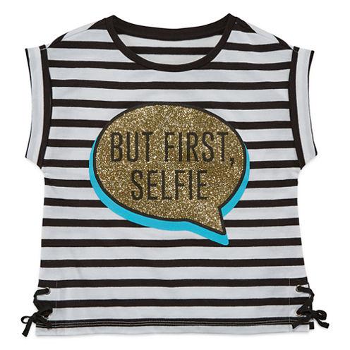 Total Girl Short Sleeve T-Shirt-Preschool Girls