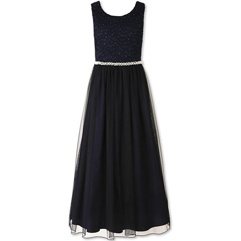 Speechless Sleeveless Party Dress - Big Kid Girls