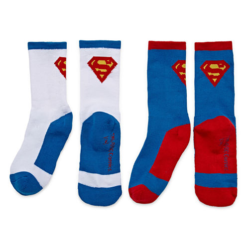 Licensed Properties Ats Superman Crew Socks