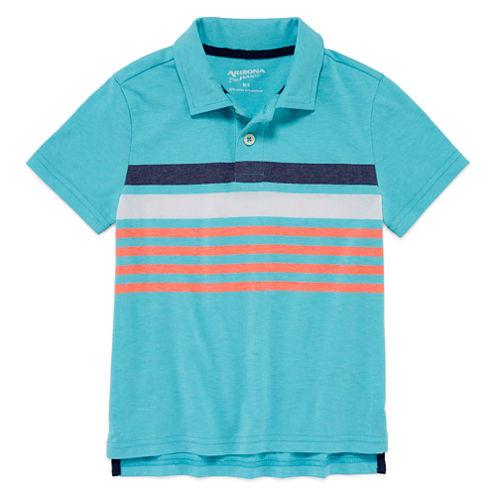 Arizona Boys Stripe Polo - Preschool 4-7