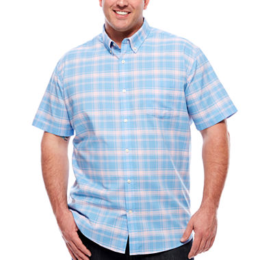 The foundry big tall supply co button front shirt big for Foundry men s polo shirts
