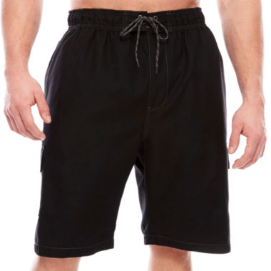 jcpenney.com | The Foundry Big & Tall Supply Co. Solid Swim Shorts Big