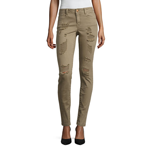 Almost Famous Skinny Jeans-Juniors