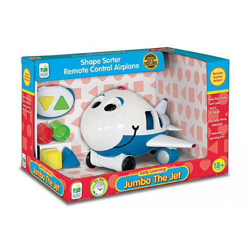 The Learning JourneyRemote Control Shape Sorter, Jumbo The Jet Plane