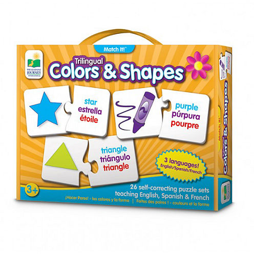 The Learning JourneyTrilingual Match It! Colors & Shapes