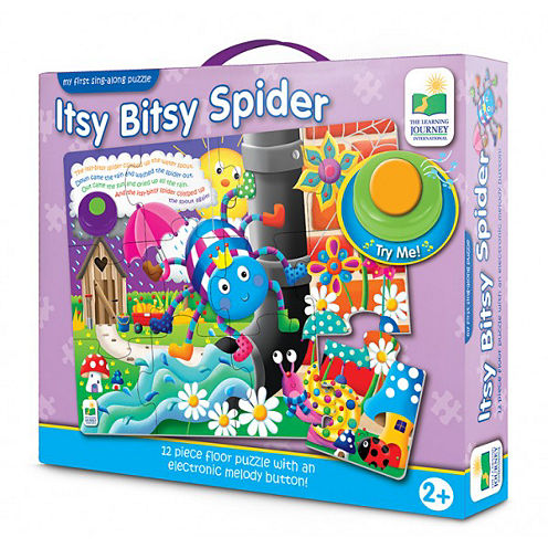 The Learning JourneyMy First Sing Along Puzzle, Itsy Bitsy Spider