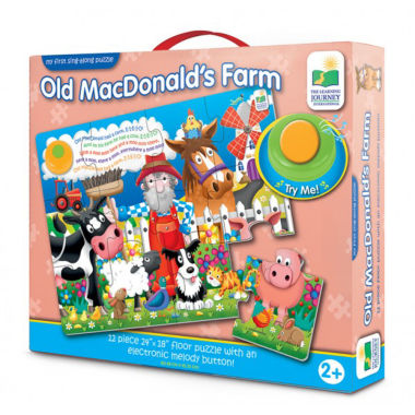 jcpenney.com | The Learning JourneyMy First Sing Along Puzzle, Old MacDonald's Farm
