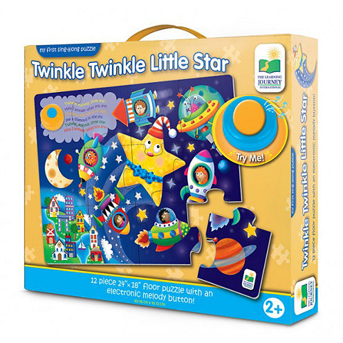 The Learning JourneyMy First Sing Along Puzzle, Twinkle Twinkle Little Star